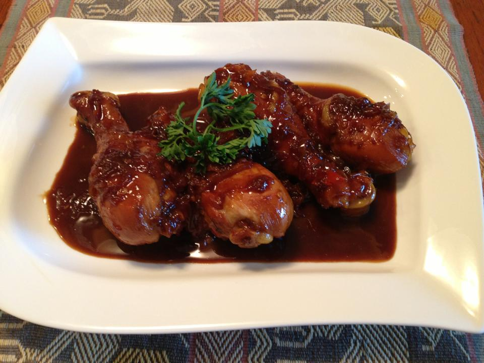 Sweet+Garlic+Soy+Sauce Spicy Chicken Thigh with Sweet Soy Sauce (Ayam ...